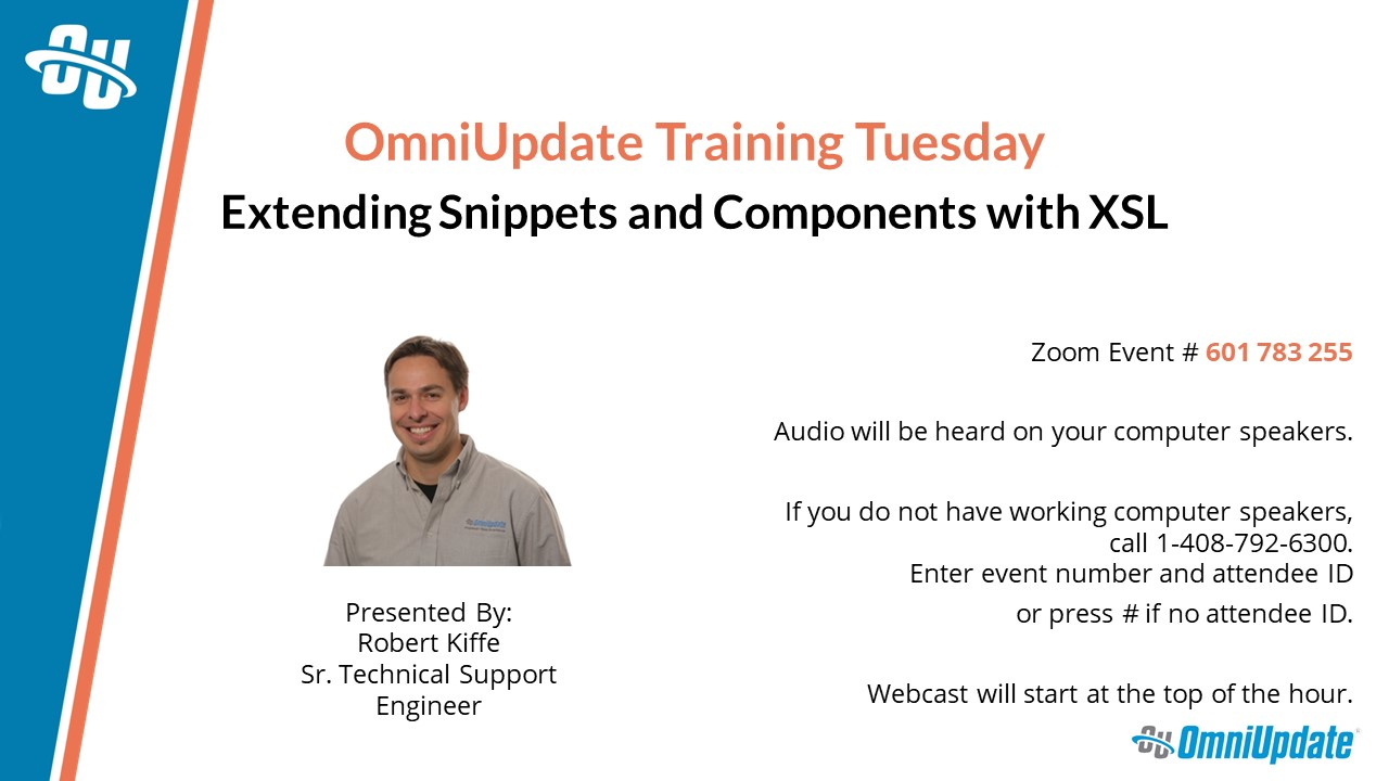 The title slide for a Training Tuesday presentation.
